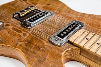Dantzler Instruments Barnwood Guitar