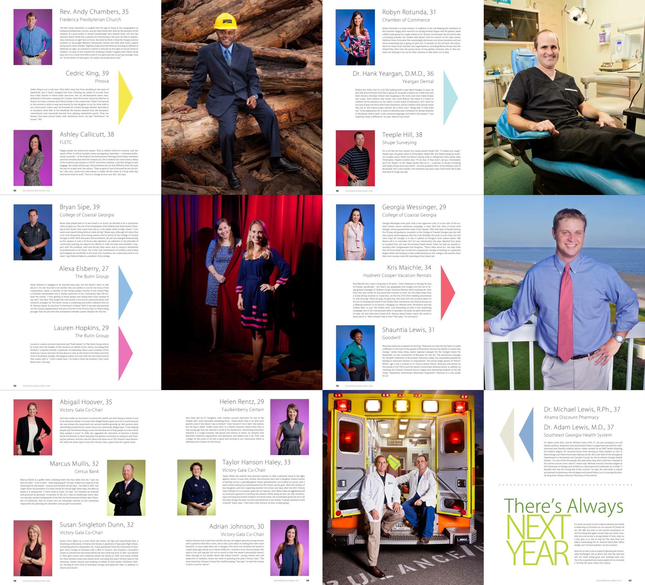 Golden Isles Magazine 20 Under 40 2011 All