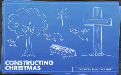 Constructing Christmas Series Art