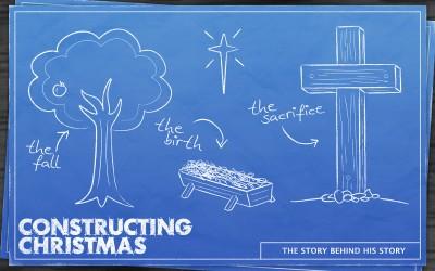 Constructing Christmas Series Art