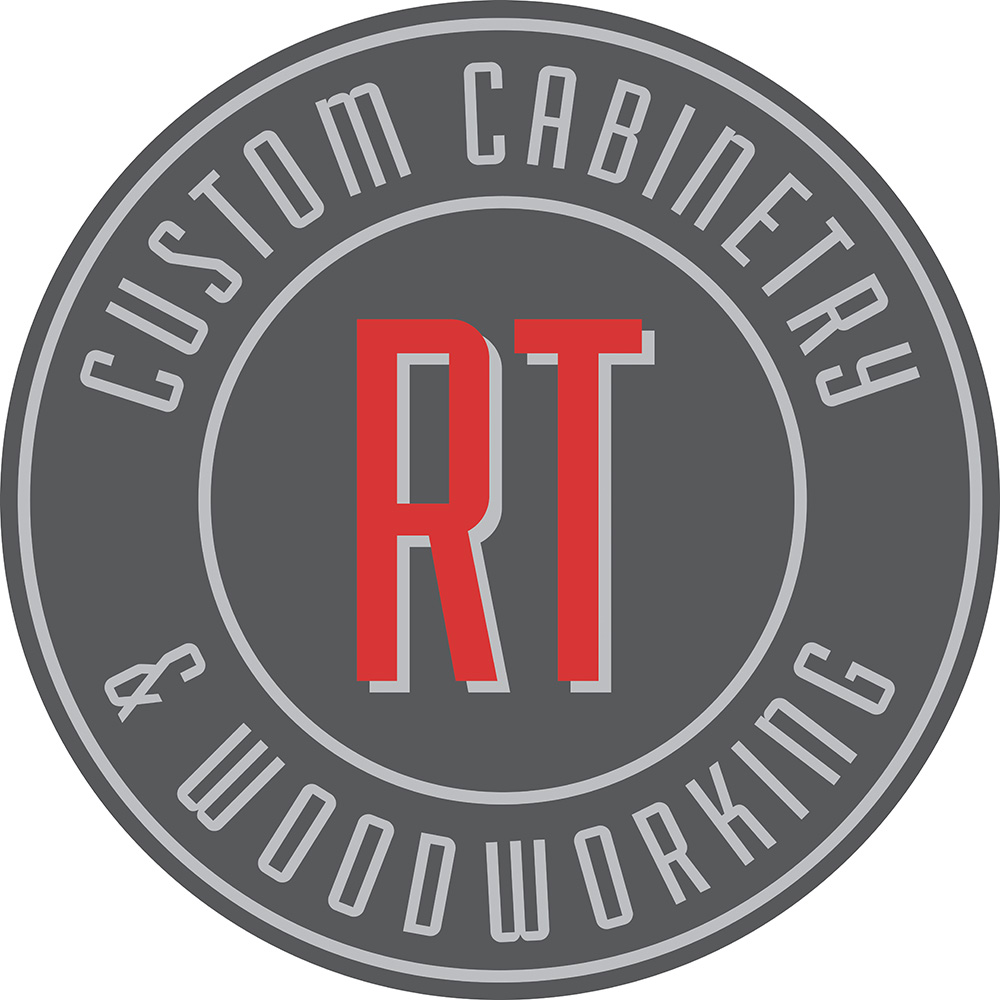 RT Custom Cabinets & Woodworking - Logo - White Background RGB Small