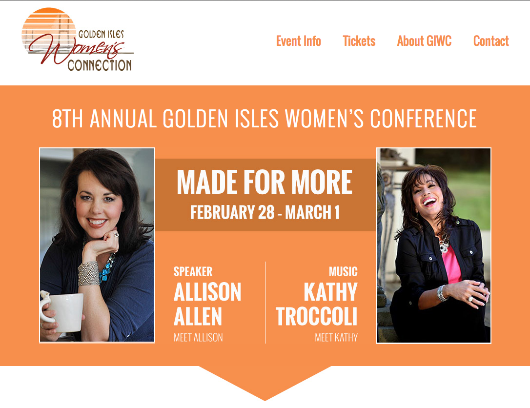 Golden Isles Womens Connection Website